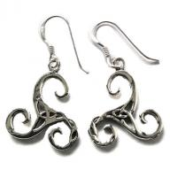 Wind Silver earings