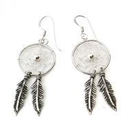 Dreamcatcher Silver earings