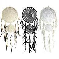 Dreamcatcher crocheted double