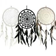 Dreamcatcher crocheted 21 cm