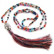 Neckless Budha rainbow