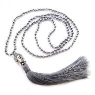 Neckless Budha grey