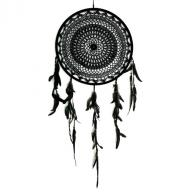 Dreamcatcher crocheted 40 cm