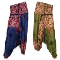 Harem pants Peacock