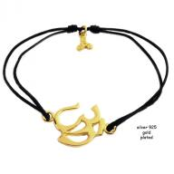 OM gold plated black
