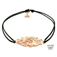 Tattoo rosegold plated black