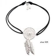 Dreamcatcher silver 925 black