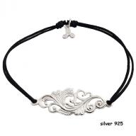 Tattoo silver 925 black
