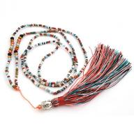 Neckless Budha tassel multi