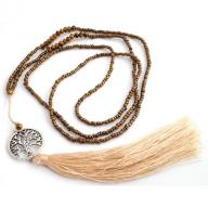 Neckless Tree of Life tassel gold