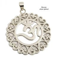 OM  bronze silver plated