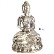 Silverplated Budha  27 cm