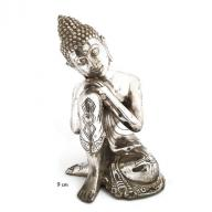 Silverplated Budha Dream 9 cm