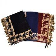 Shawl Pachmina Touch Elephant
