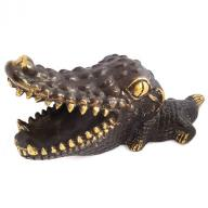 Baby crocodile Bronze