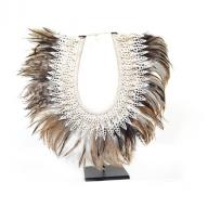 Neckless Papua Shell feather
