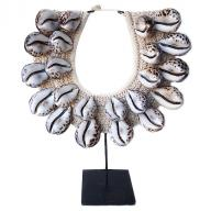 Neckless Papua Tiger Cowrie shell