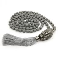 Neckless Budha gray wood