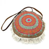 Round Bag Goni Emboidery